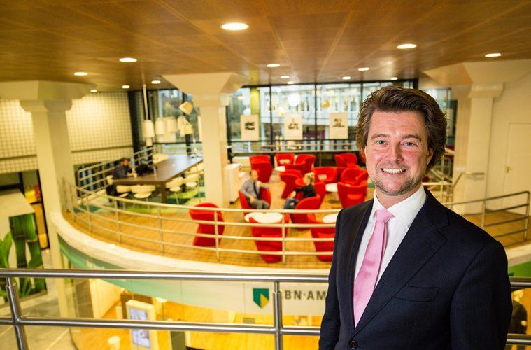 Jeroen van Gelder, regiodirecteur ABN Amro
