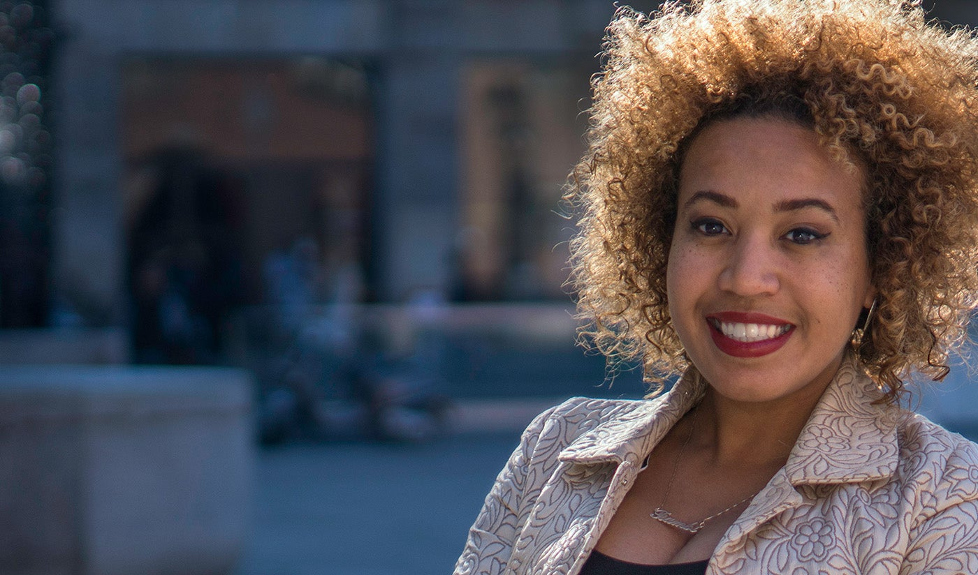 Mede-oprichter en CEO van SheFarms | Tiambi Simms