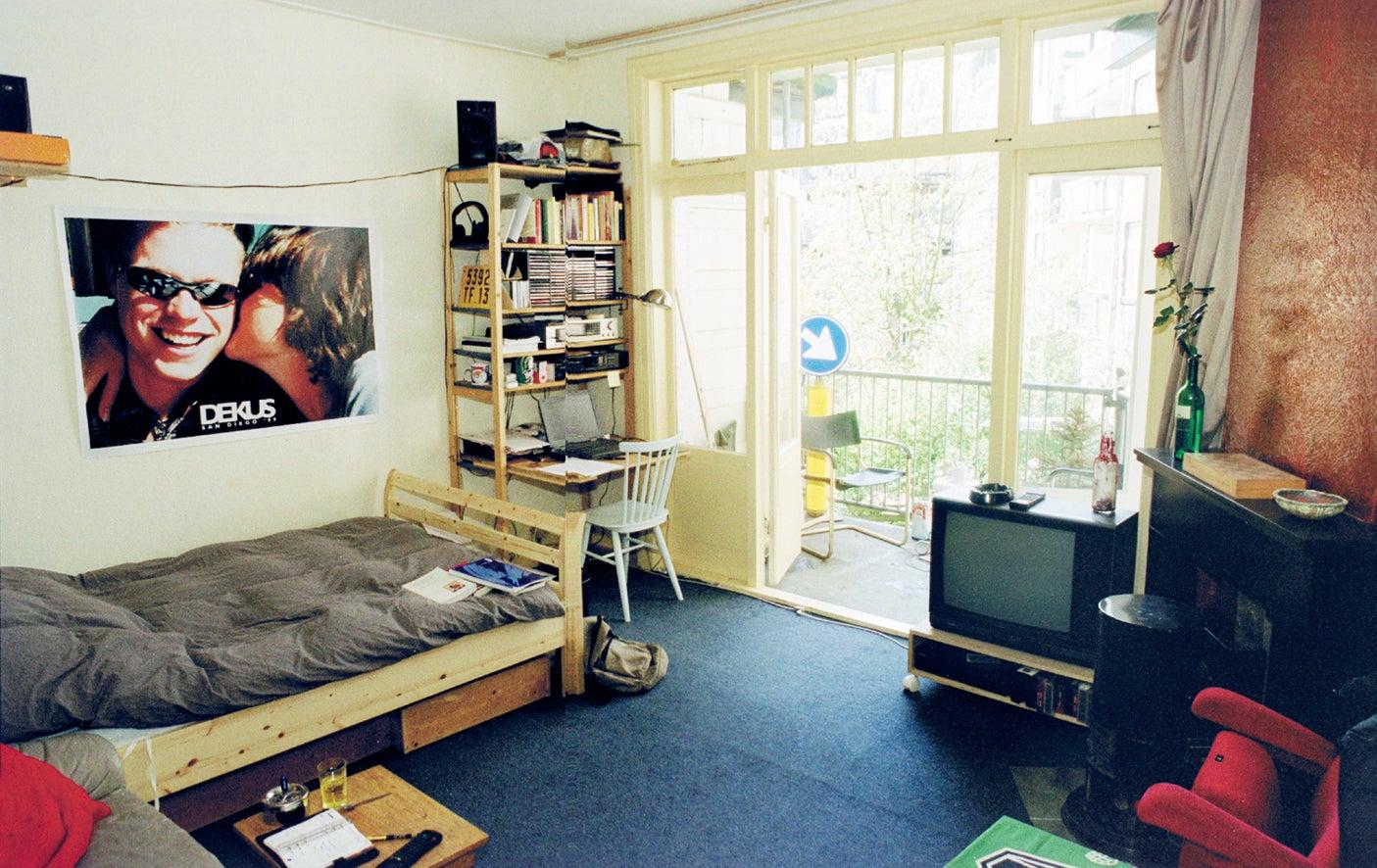 'Wij wonen in een raar huis' oude kamer