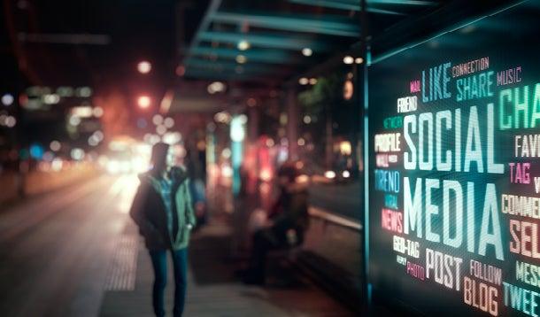 Billboard social media