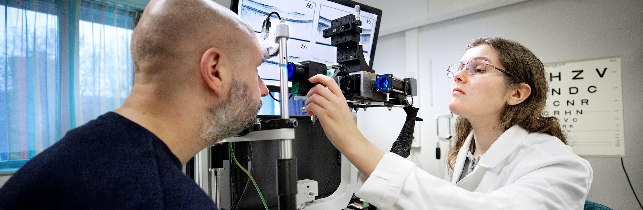 Opstelling PhD onderzoek in het VUmc