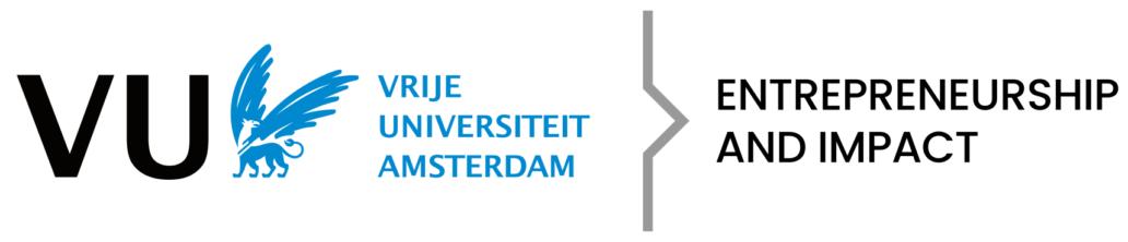 Logo Vrije Universiteit Amsterdam (VU) Ondernemend