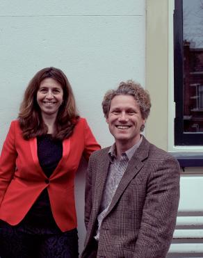 Yvonne Burger en Erik de Haan