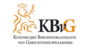 Logo Koninklijke Beroepsorganisatie van Gerechtsdeurwaarders (KBvG)