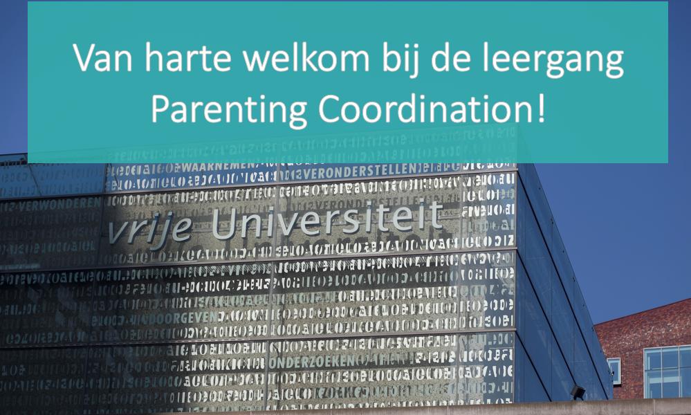 Welkomsheet Leergang Parenting coordination