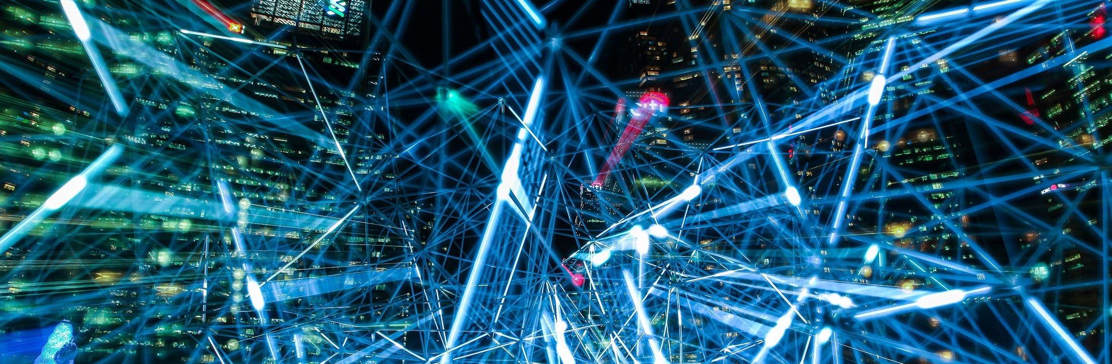 de beweging en bewerking van een big data computernetwerk
