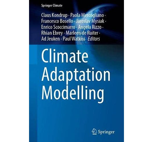 Cover of book Climate Adaptation Modelling