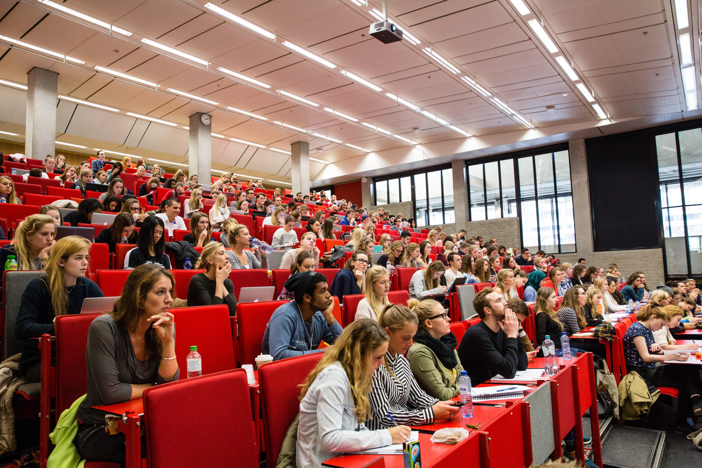 Lecture hall VU Amsterdam