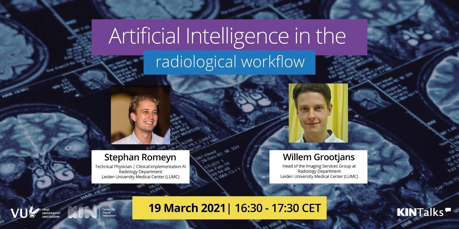 KINTalk AI in the radiolical workflow