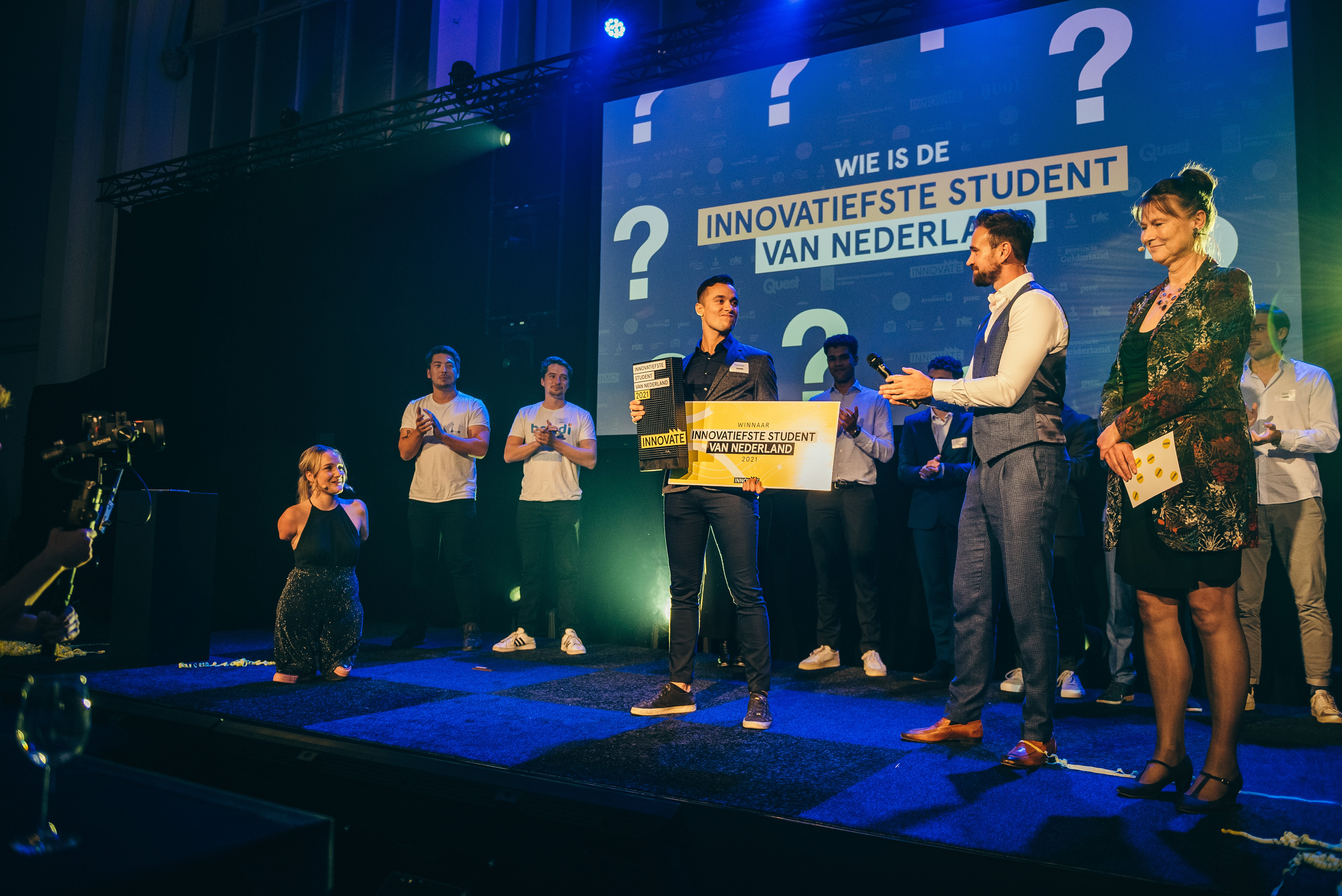 Jardo Stammeshaus was voted 'Most innovative student of the Netherlands'