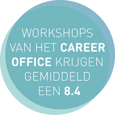Workshops van het Career Office krijgen gemiddeld een 8.4