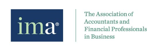 Logo IMA The Association of Accountants and Financial Professionals in Business