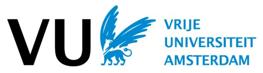 VU Vrije Universiteit Amsterdam logo